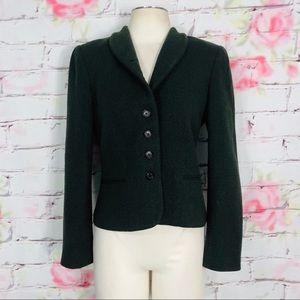 Ralph Lauren wool blazer w button close